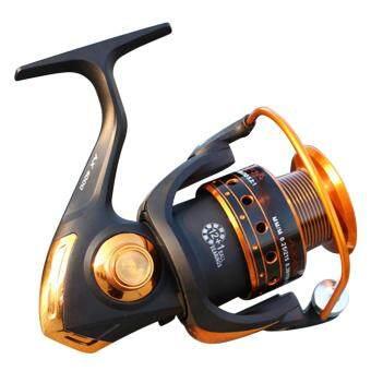 Spinning Fishing Reel 12+1 Bearing Balls Fishing Reel with Left Right Convertible Metal Rocking