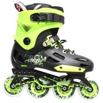 SRZ WeiQiu Pro Roller Style Inline Skate Outdoor Sport Shoes AQ (Green) 4be4a2f92d