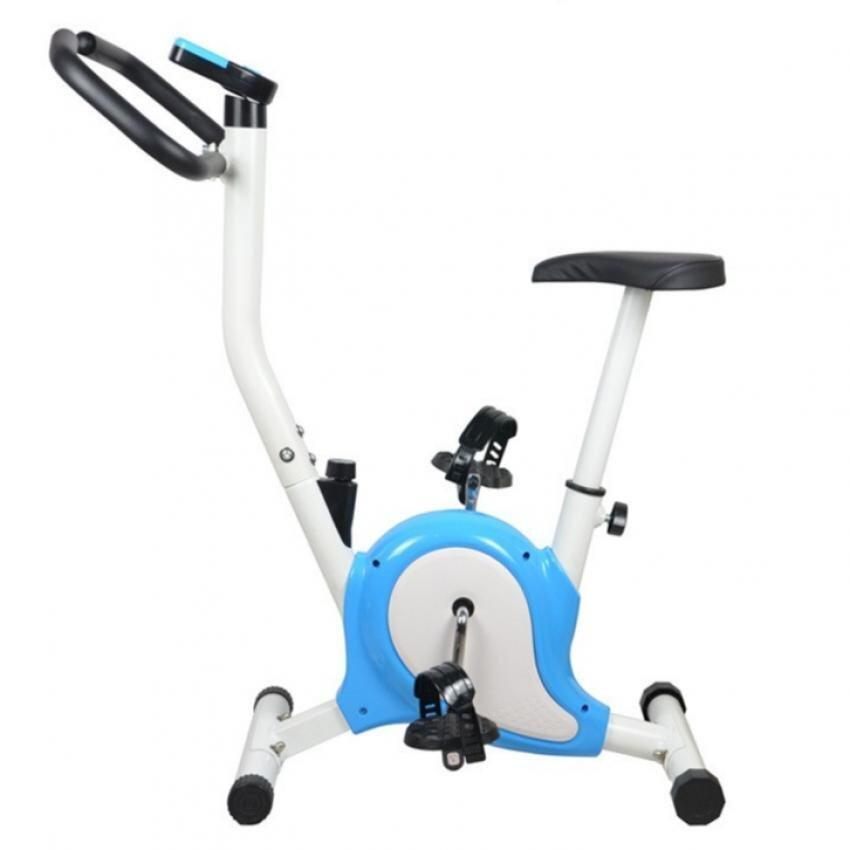 Stationary Exercise Bicycle (Blue)