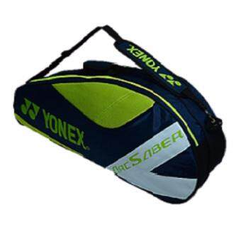 Yonex (1pcs) Double Zips Bag with Shoes Compartment and Sling Straps (Arc Saber