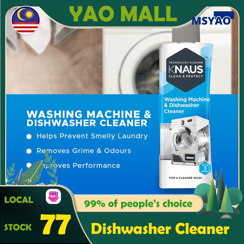 【Ready Stock】KNAUS Washing Machine & Dishwasher Cleaner 300g (For 3 cleaning cycles) Washing Machine Dishwasher Cycling Dishwasher Machine Washing Machine Cleaner Wash Machine