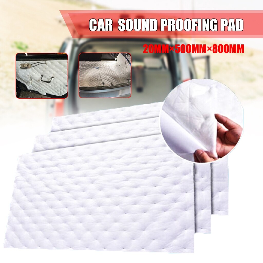 Automotive Tools & Equipment - 500MM 800MM 20MM Self Adhesive Closed Foam Car Treatment Absorption Insulation - Car Replacement Parts