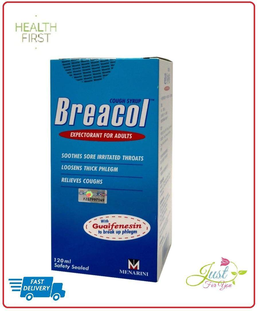 BREACOL COUGH SYRUP (ADULT) 120ML