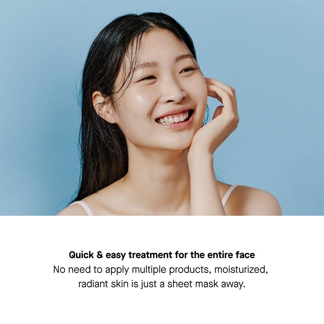 COSRX Triple Hyaluronic Water Wave Sheet Mask 21ml Hyaluronic Acid Healthy Smooth Skin Moisturising Hydrating Cooling Refreshing Korean Skincare Beauty Local Warehouse Ready Stock Original 21ml