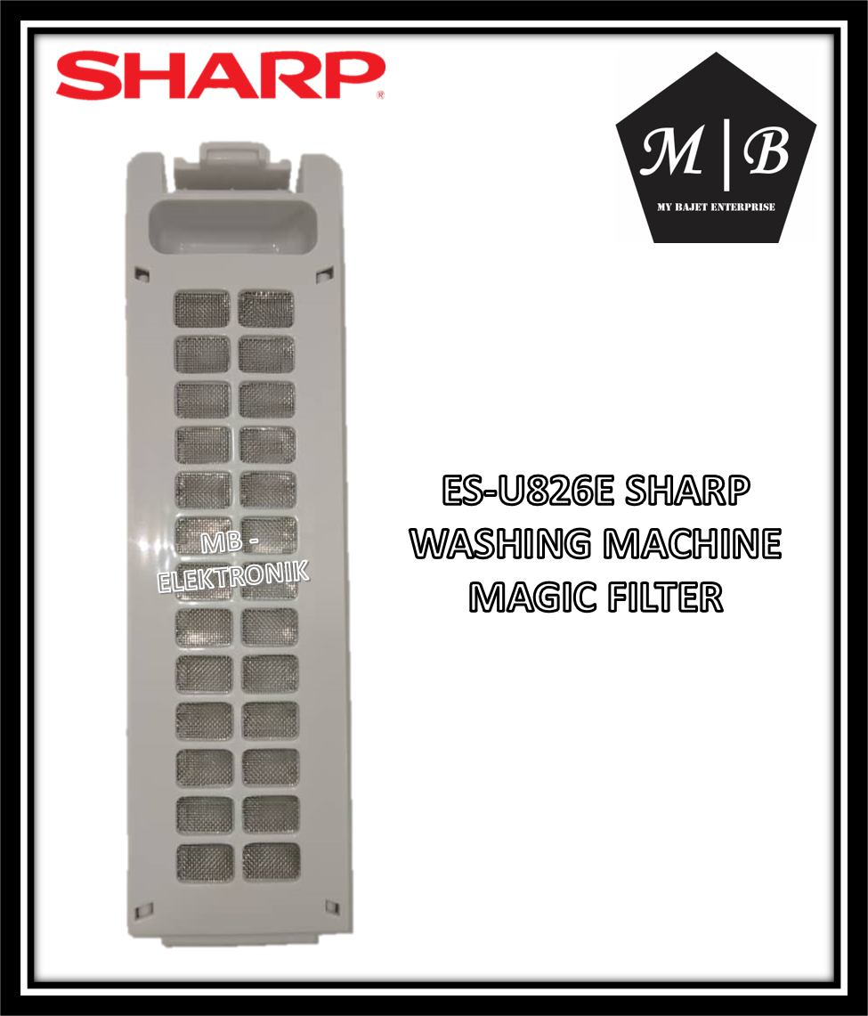 {ORIGINAL} {1 PCS} SHARP WASHING MACHINE MAGIC FILTER ES-U826E ES-U906H