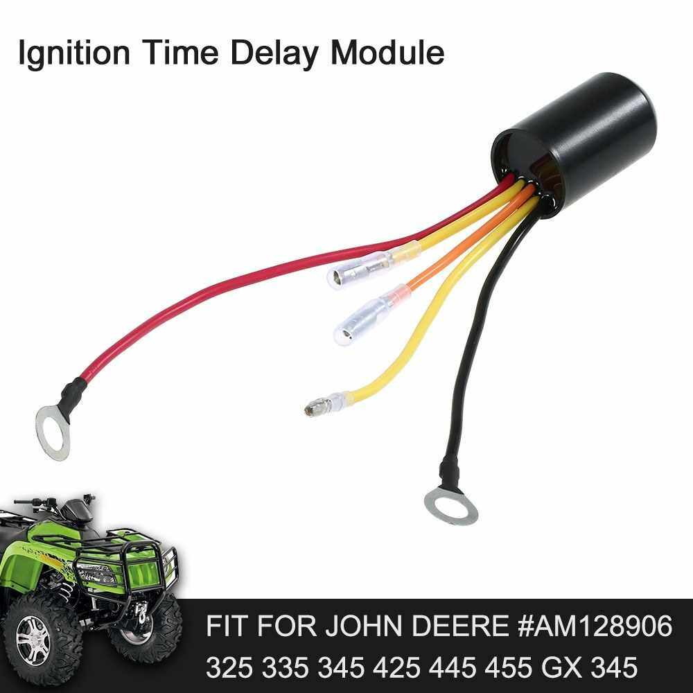 Best Selling Ignition Time Delay Module Fit for John Deere #AM128906 325 335 345 425 445 455 GX 345 (Standard)