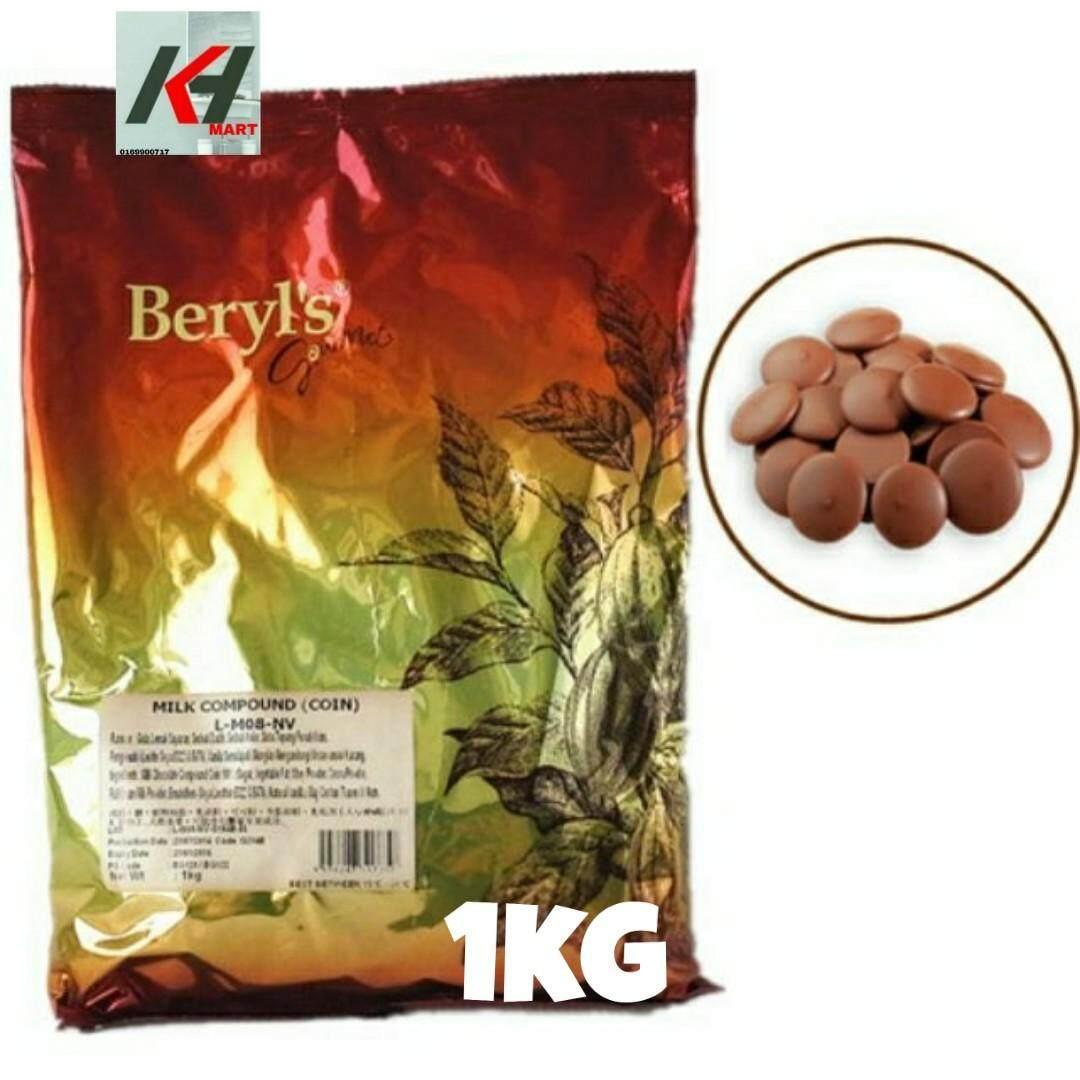 BERYL'S Milk Chocolate Compound Coins READY STOCK