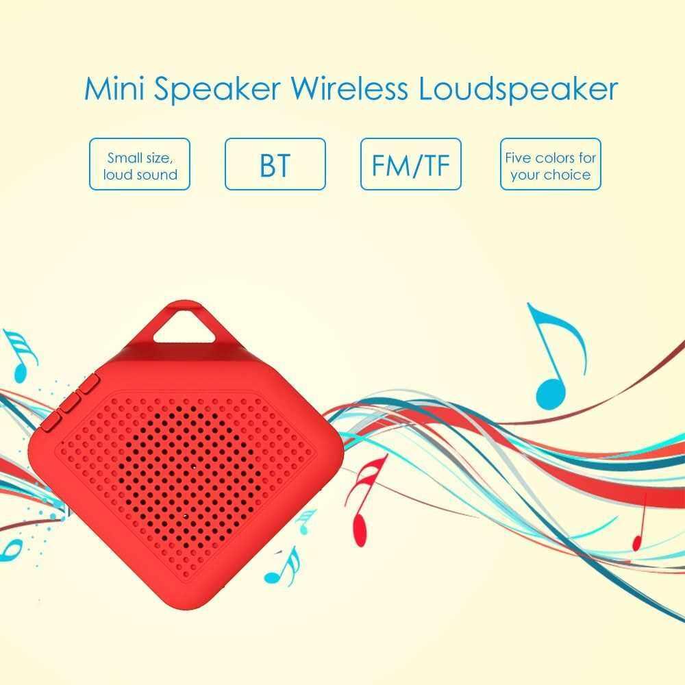 Mini Speaker Wireless Loudspeaker Soundbox Portable Handsfree Music Box Grey (Grey)