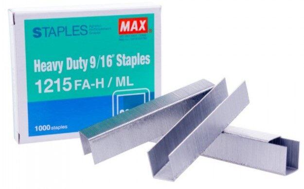 MAX Staples 1215 FAH (Stapler Bullet)