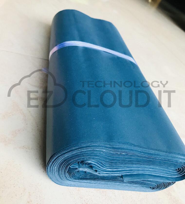 28x43cmx100pcs Flyer Courier Bag Parcel Beg Kurier Flyer Packaging Plastic Bag Poslaju dhl j&t nationwide lineclear