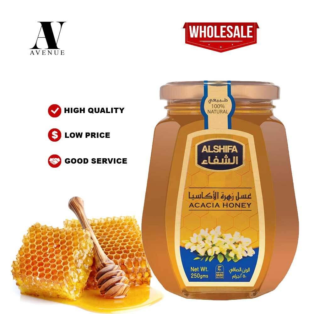 ALSHIFA ACACIA NATURAL HONEY 250 g Original 100% Madu Asli
