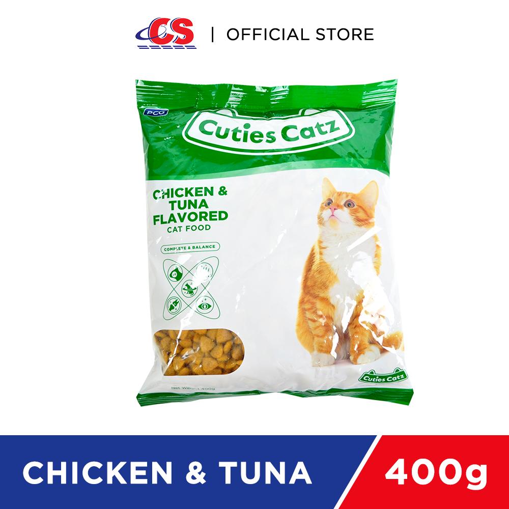 CUTIES CATZ Chicken & Tuna 400g