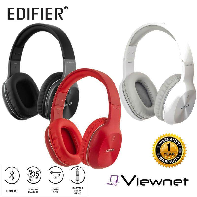 [RAYA SALE] Edifier W800BT Black/White/Red Wireless Headphone