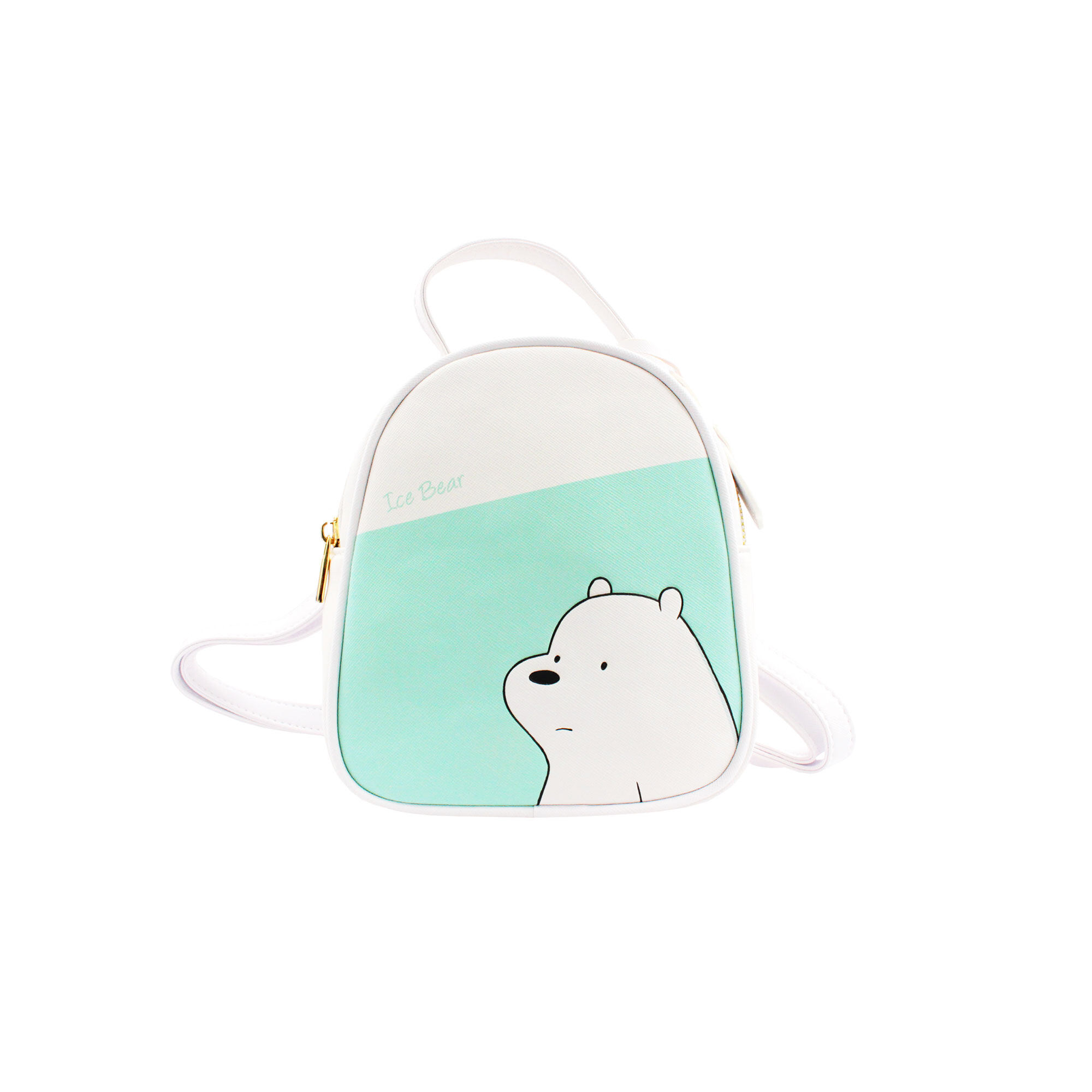 We Bare Bears Ice Bear Crossed-Body Bag - White Colour