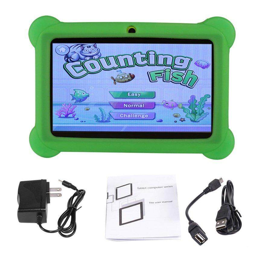 GGSHOP 7 inch Screen Children Tablets 2G+16G A33 Quad Core for Android 4.4 Tablet PC