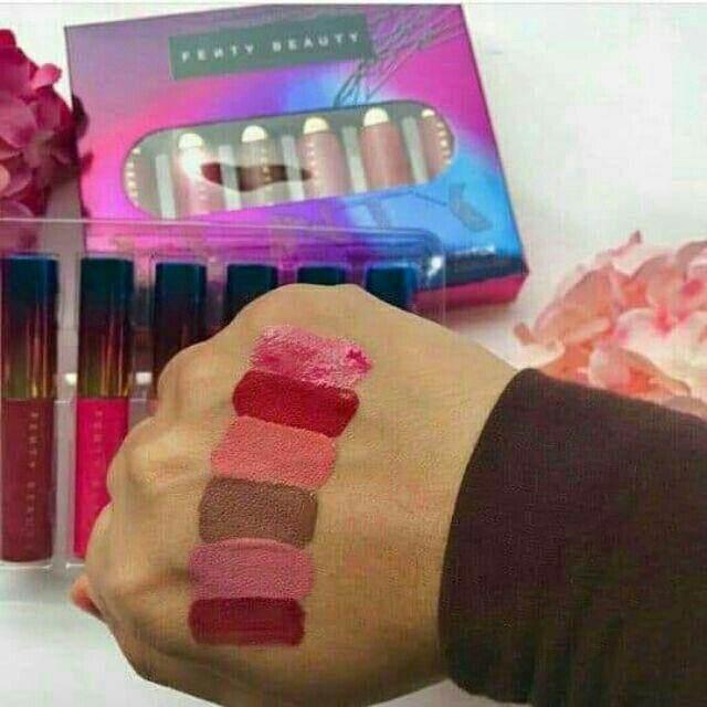 FREE GIFTFenty Beauty 6 in 1 Lipmatte Set lipstick