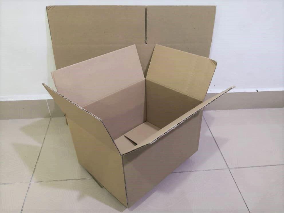 14pcs Plain Carton Boxes (L294 X W226 X H183mm)