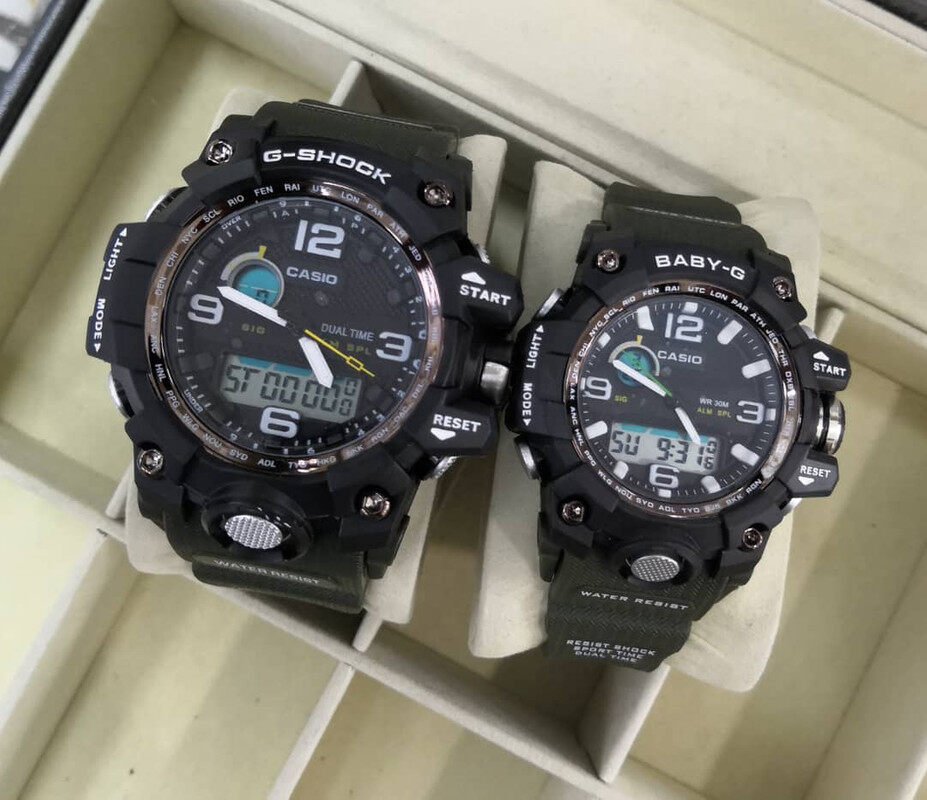 Sports Edition Casio_G-Shock_Couple Set For Men And Women