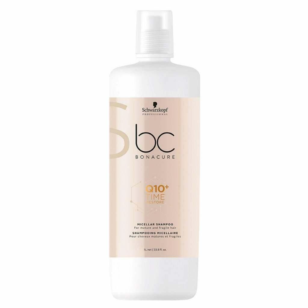 Schwarzkopf BC Q10+ Time Restore Micellar Shampoo (1000ml)