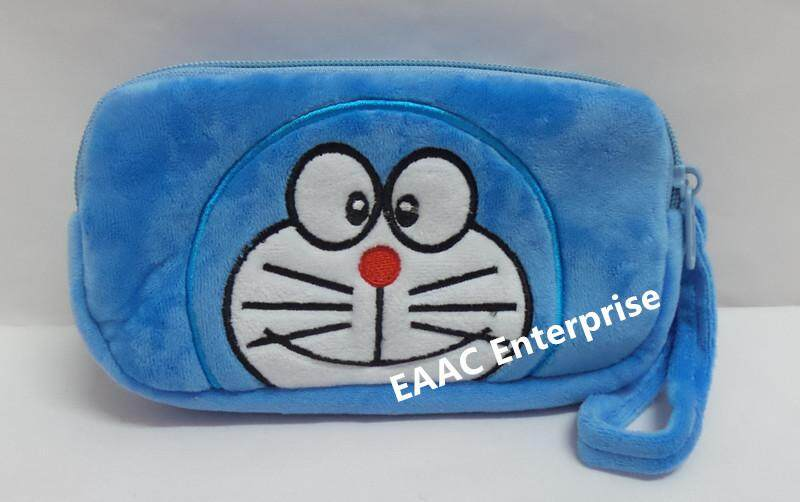 Cute Cartoon Doraemon Plush Pencil Box Case