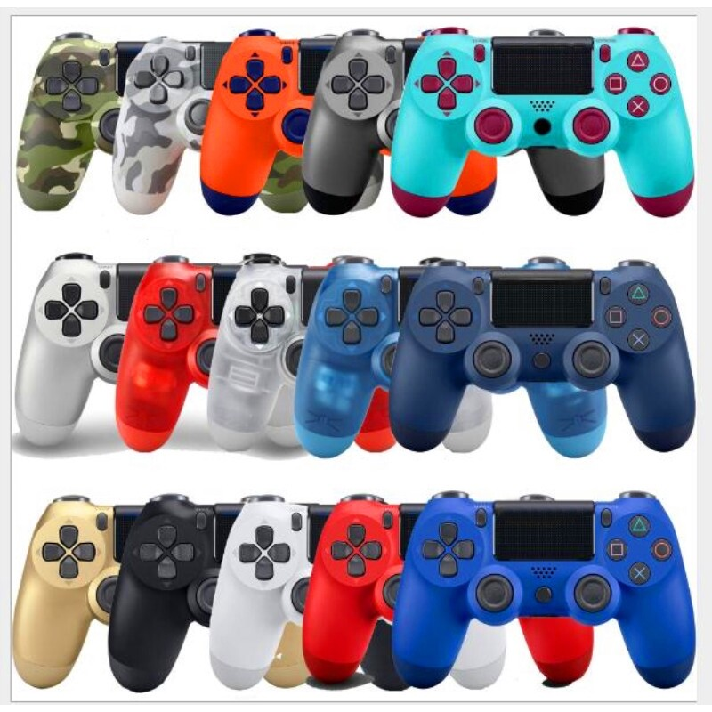 BLUETOOTH Controller For SONY PS4 Gamepad For Play Station 4 Joystick WIRELESS Console For PS3 For - RED / BLACK / GOLD / CRYSTAL BLUE / BLUE / CRYSTAL RED / CAMOUFLAGE / GRAY CAMOUFLAGE / SILVER / SUN SET ORANGE / WHITE / BERRY BLUE