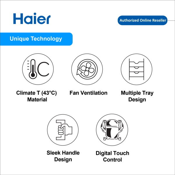 Haier 340L Chiller Cool Beverage Showcase Glass Door Display Upright Freezer SC-348