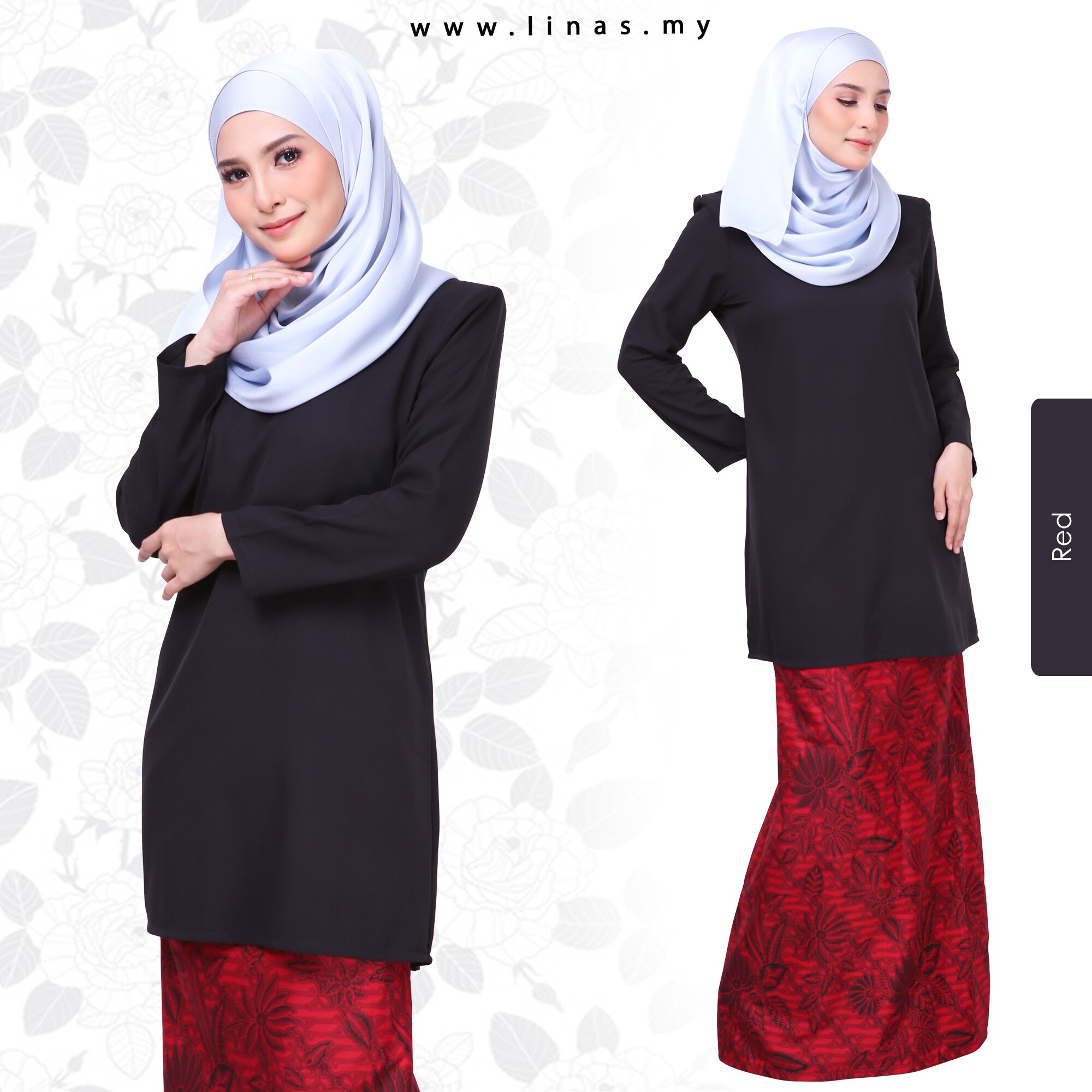 KURUNG ADHYRAA BLACK VERSION/ BAJU BRIDESMAID / KURUNG MUSLIMAH