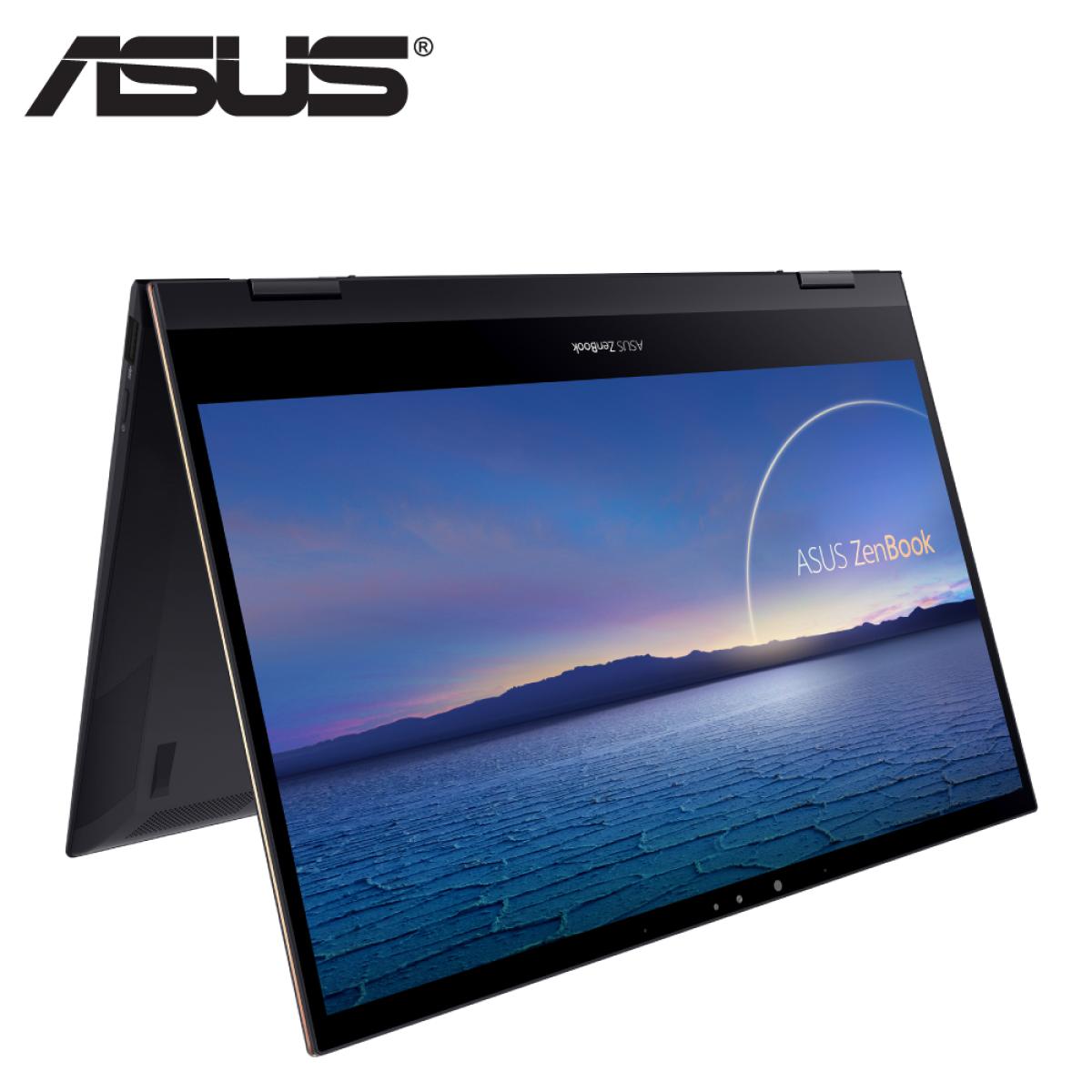 Asus ZenBook Flip S13 UX371E-AHL283TS 13.3'' UHD Touch Laptop Jade Black ( i7-1165G7, 16GB, 1TB SSD, Intel, W10, HS ) Laptop