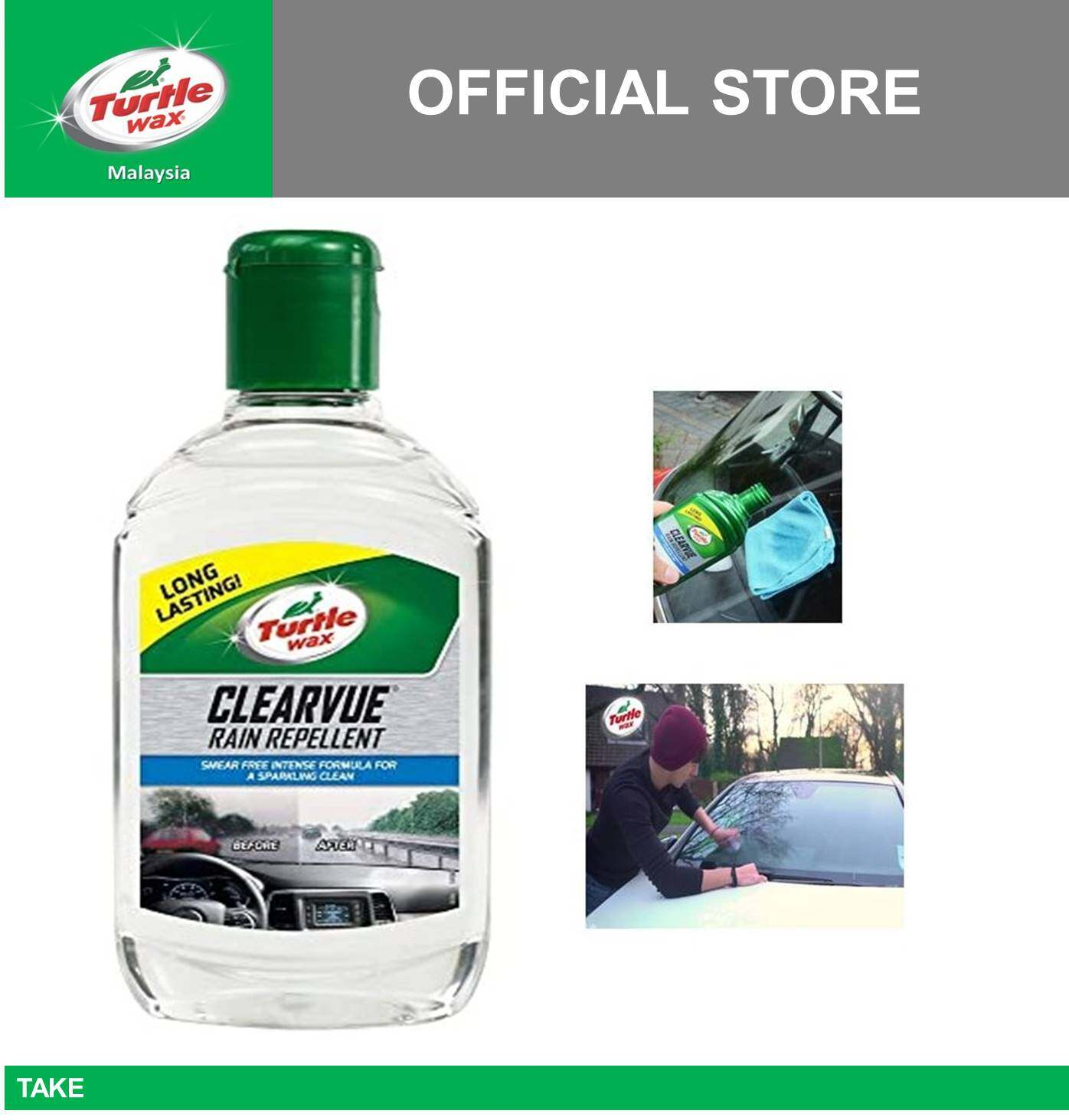 Turtle Wax Clearvue Rain Repellent T-7620