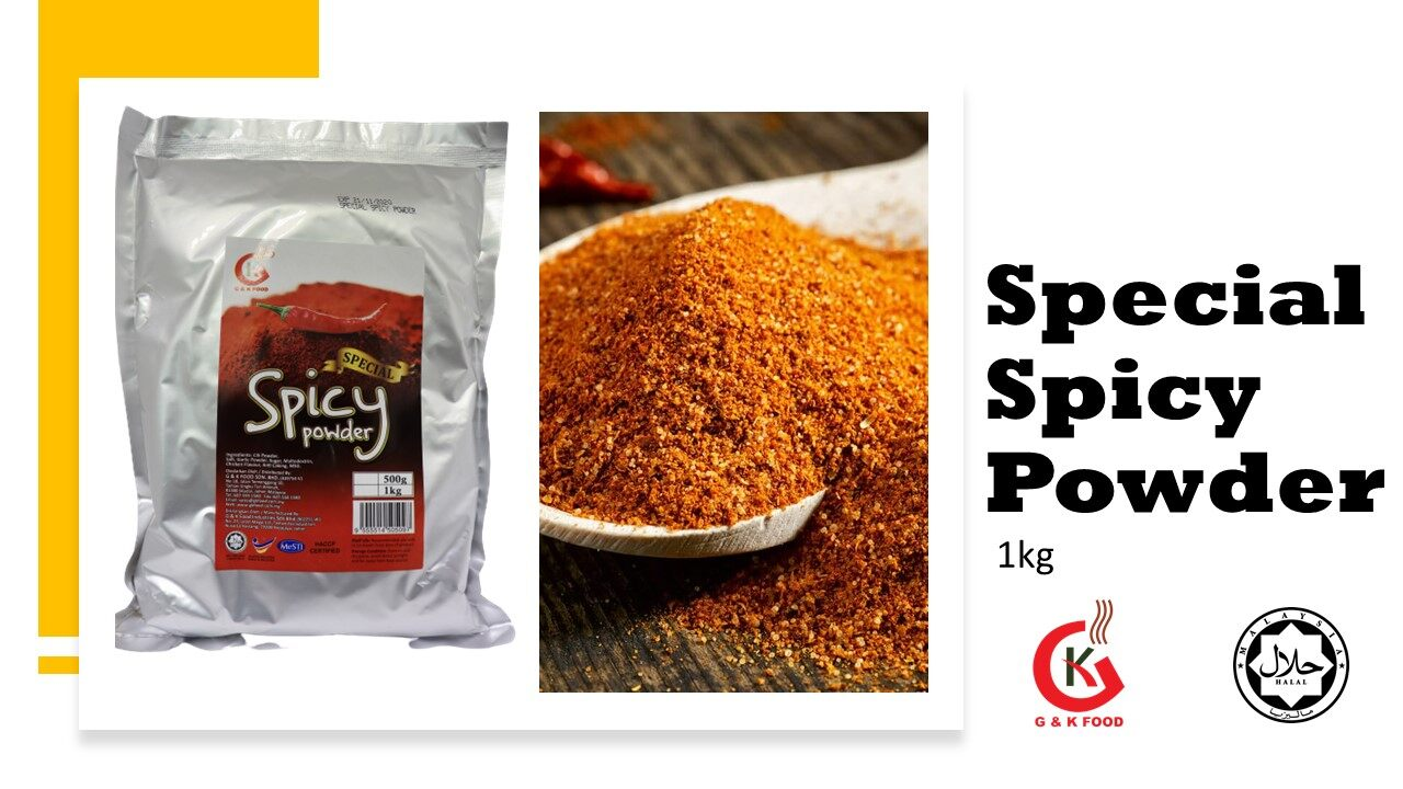 [100% Jakim Halal] 1kg Special Spicy Seasoning Powder / 特调辣椒粉