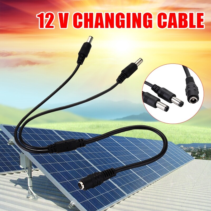 Lighting Fixtures & Components - 12V Solar Panel Cable Male Female Connection Cable Waterproof For DC Solar Panel