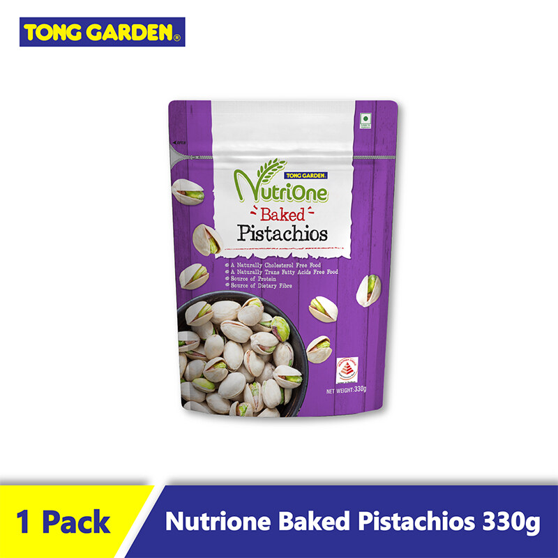 TG Nutrione Baked Pistachios Unsalted 330g