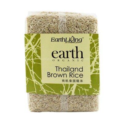 Earth Organic Thailand / Thai Brown Rice 1kg
