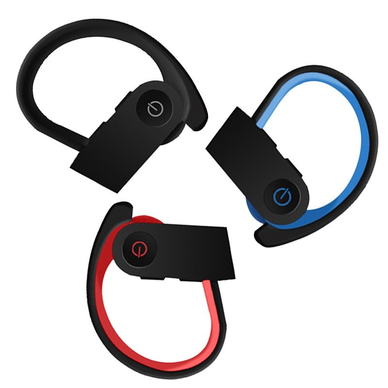 On-Ear Headphones - TWS-3 WIRELESS BLUETOOTH 5.0 Head SETs Super Bass Stereo Sports Earphone - BLACK / BLUE / RED