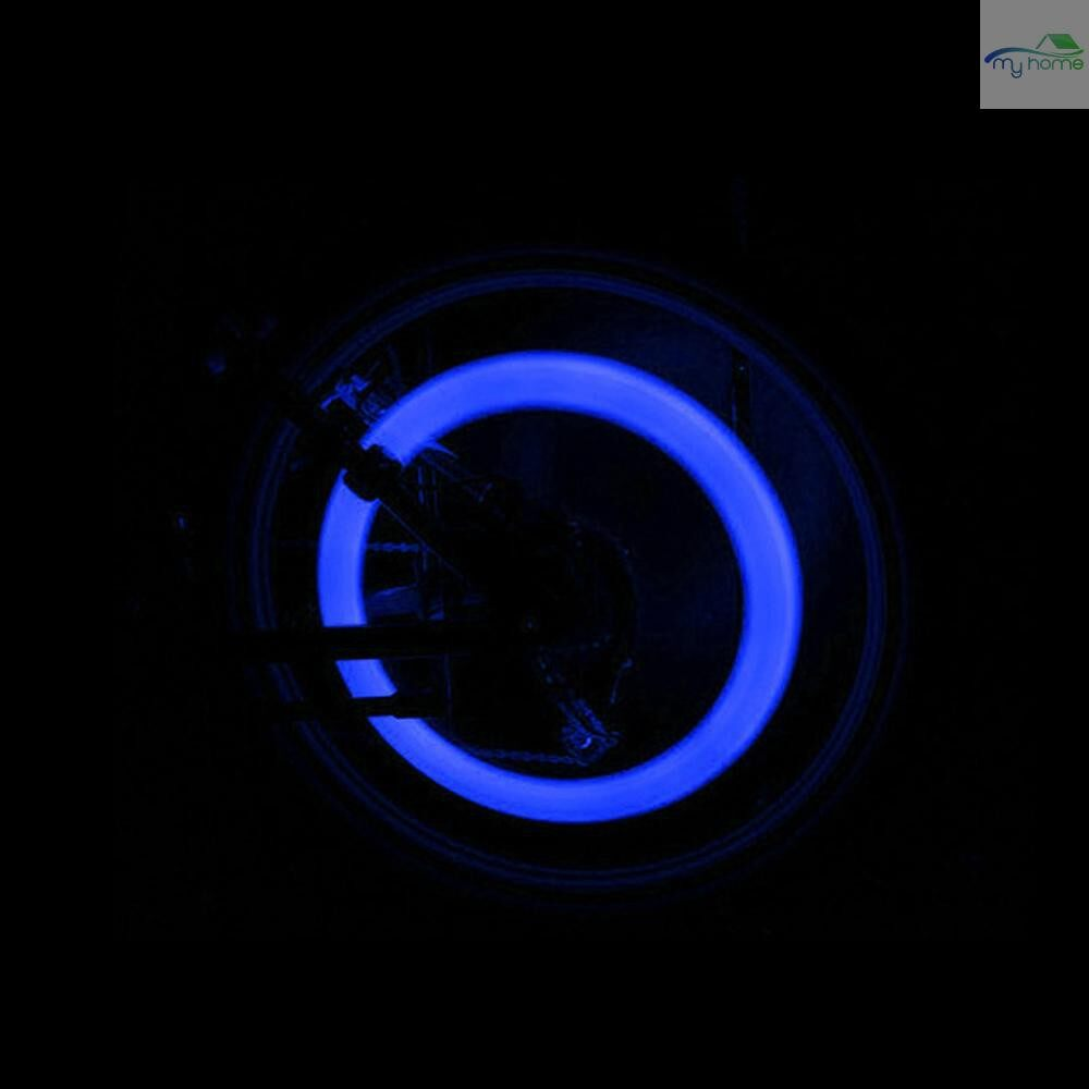 Lighting Fixtures & Components - 1 PIECE(s) Bicycle Spokes Lamp Bike Cycling Lamp Waterproof Bike Willow LED Wheel Wire Lights Tire Valve - MULTICOLOR / BLUE / GREEN / RED
