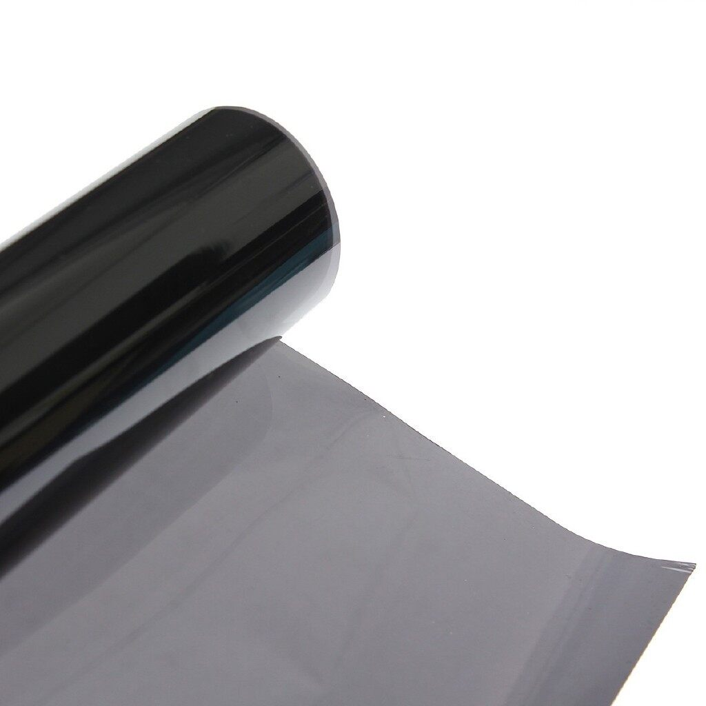 Exterior Car Care - 50cmx7m 15% Black Glass Window Tint Shade Film Mirror Tinting Car House Roll New