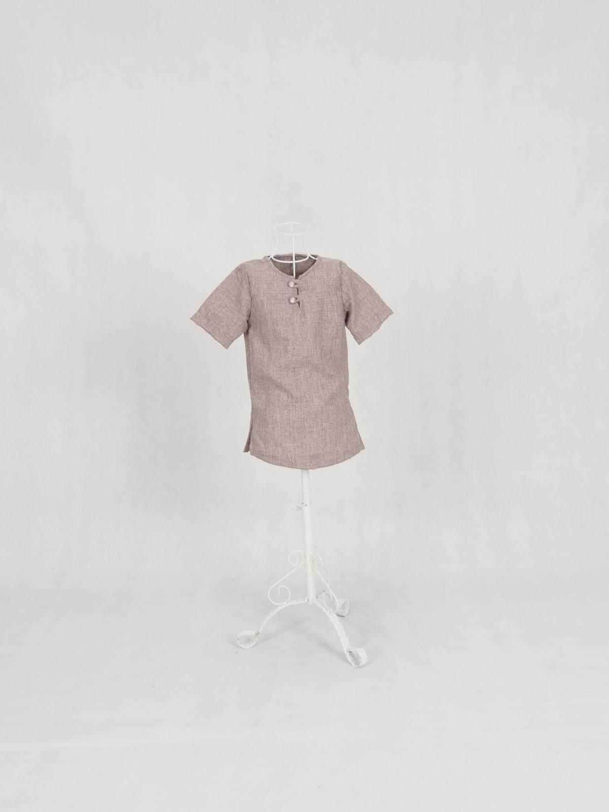 Muslim Boy Kanak-Kanak Moden Cotten Kurta / Hafiz Short sleeve Man Top Kid (3Months-6Years) / Raya Kurta 2020 / Ready Stock / Murah / Ship from Malaysia / Hot Product