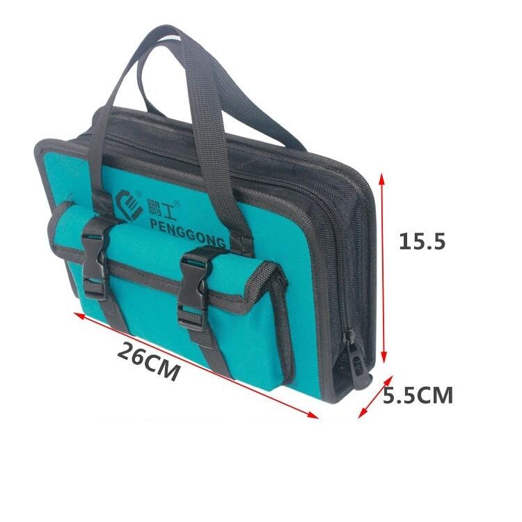 Hiking & Outdoor Bags - PENGGONG Tool Bag Electrician Oxford Canvas Handbag - Adventure