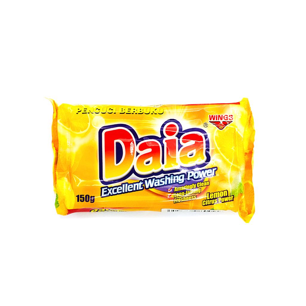 Daia Bar Detergent Lemon Citrus 150g