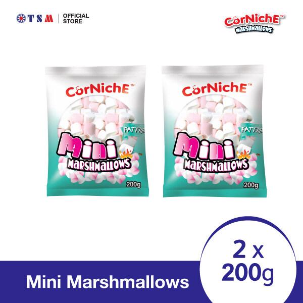 CORNICHE MARSHMALLOWS MINI 200G X 2 PACKS