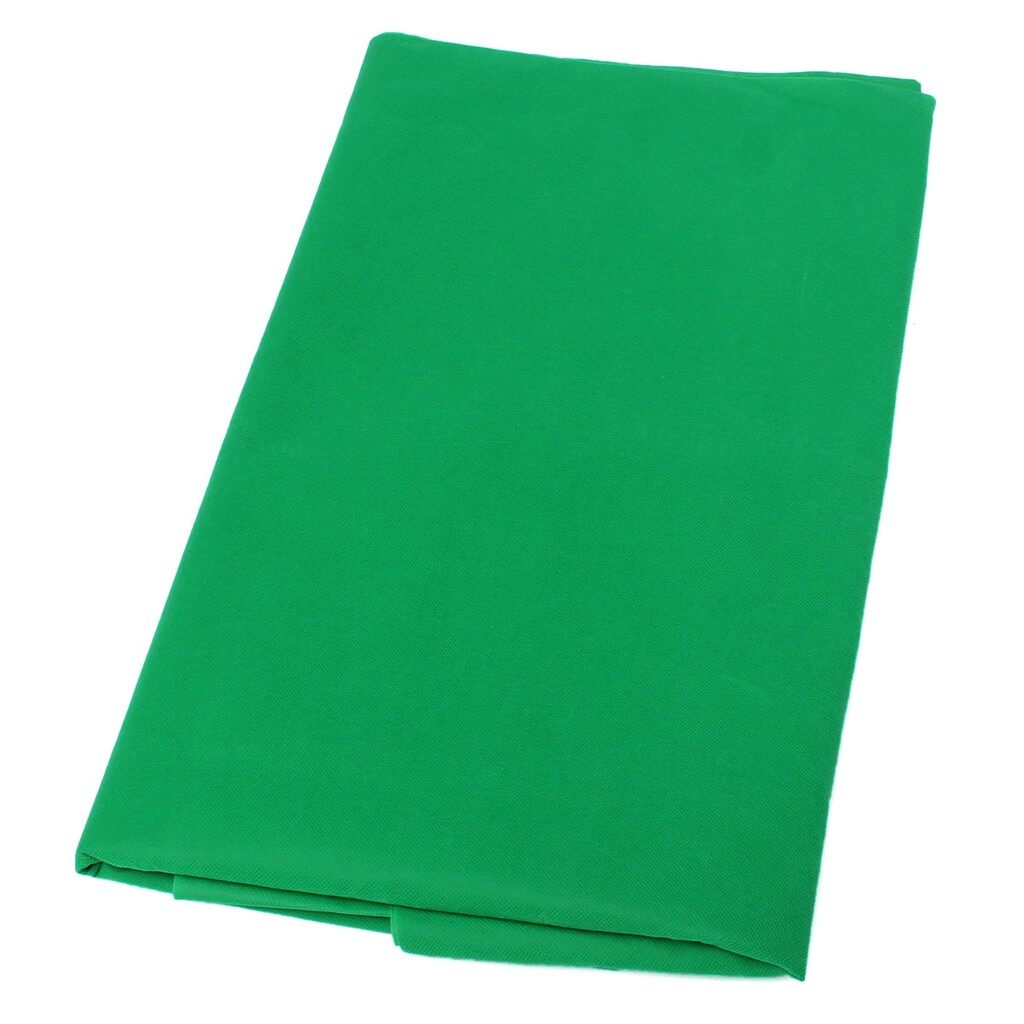 Lighting and Studio Equipment - 1.6x3M / 5x10ft Photography Studio Non-woven Background Screen Green Backdrop - Camera Accessories