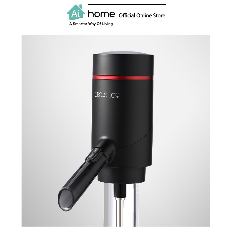 CIRCLE JOY Electric Wine Aerator Dispenser (Black) with 1 Year Malaysia Warranty [ Ai Home ]