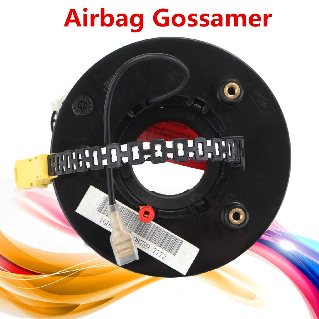 Car Lights - Airbag Gossamer Clock Coil Cable Spring Environmental Black For Volkswagen Jetta - Replacement Parts