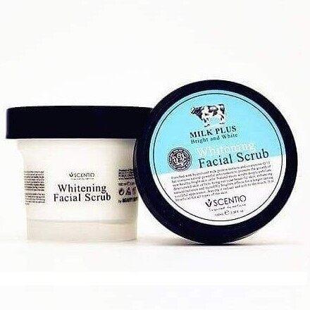 Beauty Buffet Scentio Milk Plus Whitening Q10 Facial Scrub 100ml
