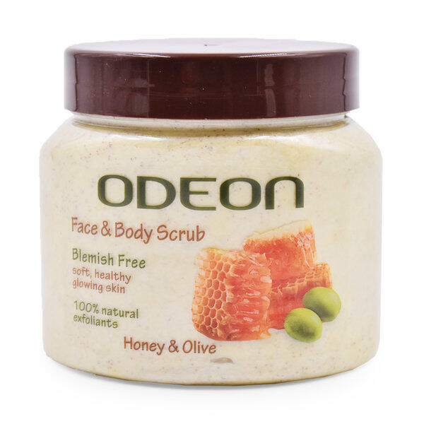 ODEON FACE & BODY SCRUB HONEY & OLIVE  300 ML