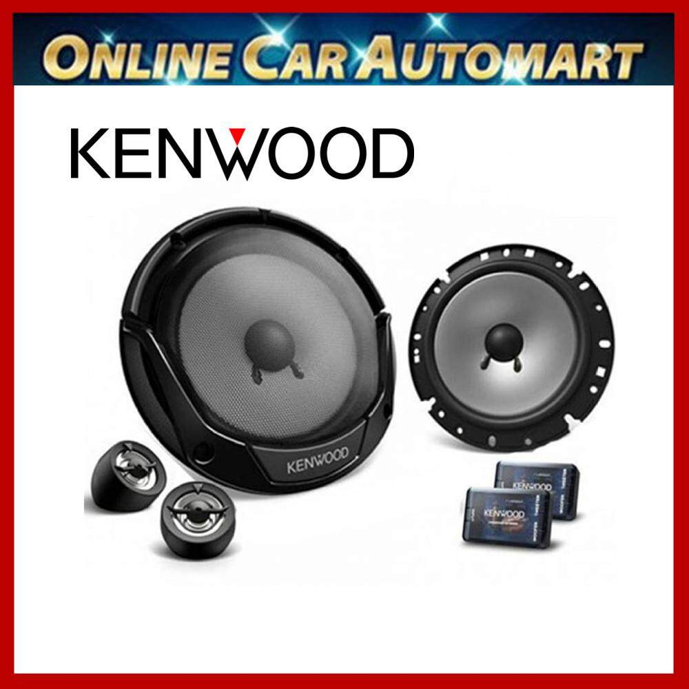 Kenwood Kfc-e715p 6-1/2-inch 6.5  Car Audio Component Speaker System W Crossover