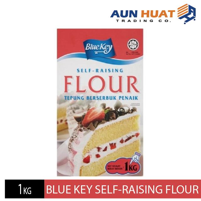 BlueKey Self-Raising Flour 1kg / Tepung Berserbuk Penaik BlueKey 1kg