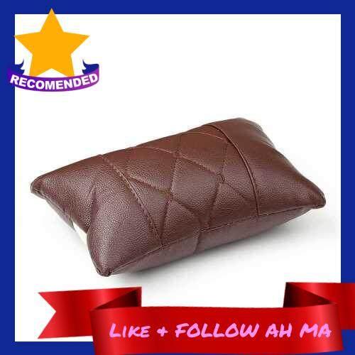 Best Selling Car Neck Pillow Headrest Cushion Neck Rest Pillow Interior Decor (Coffee)