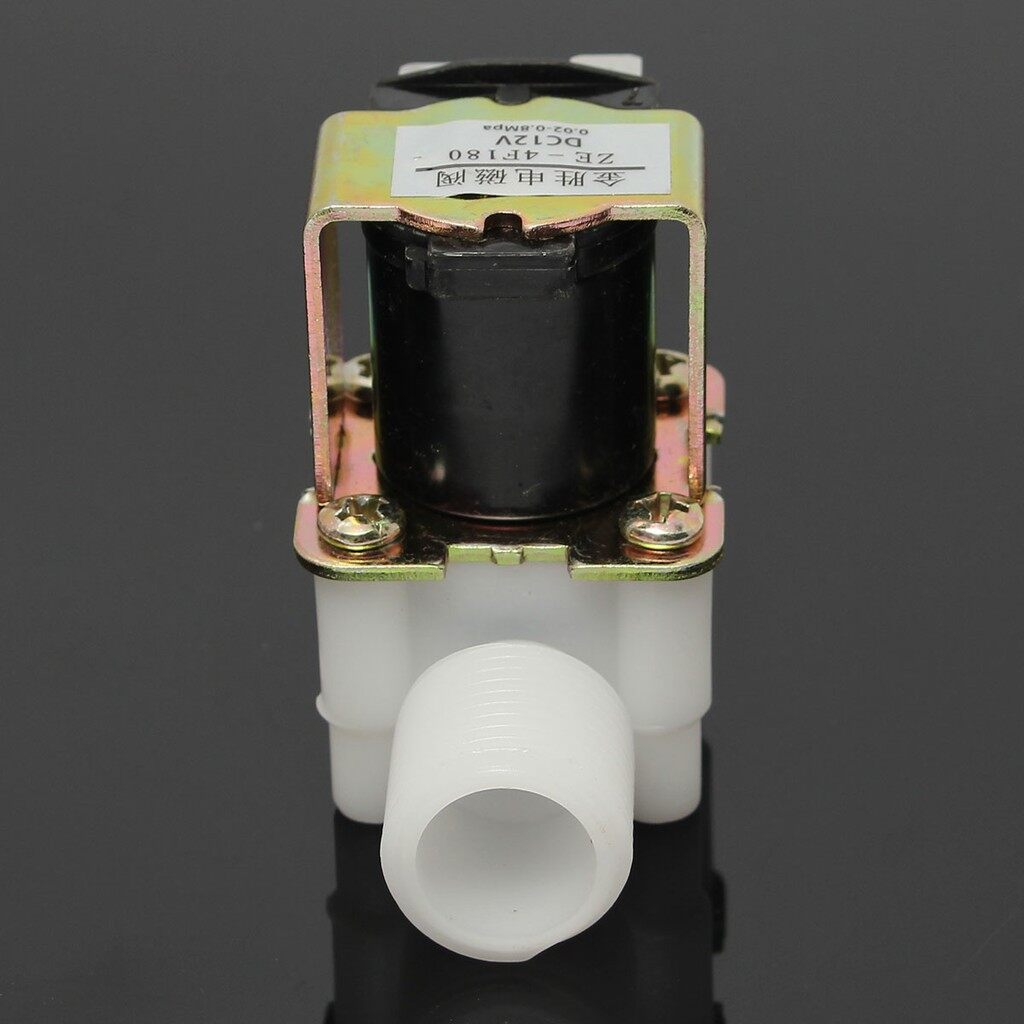 Cool Gadgets - 12V Electric Solenoid Valve Magnetic DC N/C Water Air Inlet Flow SDB - Mobile & Accessories