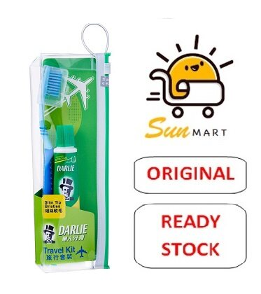 Darlie Travel Toothbrush Kit with Toothpaste